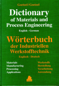 Picture of Dictionary of Materials and Process Engineering (German/English)