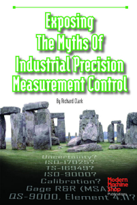 Picture of Exposing the Myths of Industrial Precision Measurement Control