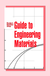 Show details for Guide to Engineering Materials