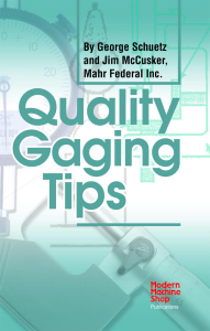Show details for Quality Gaging Tips